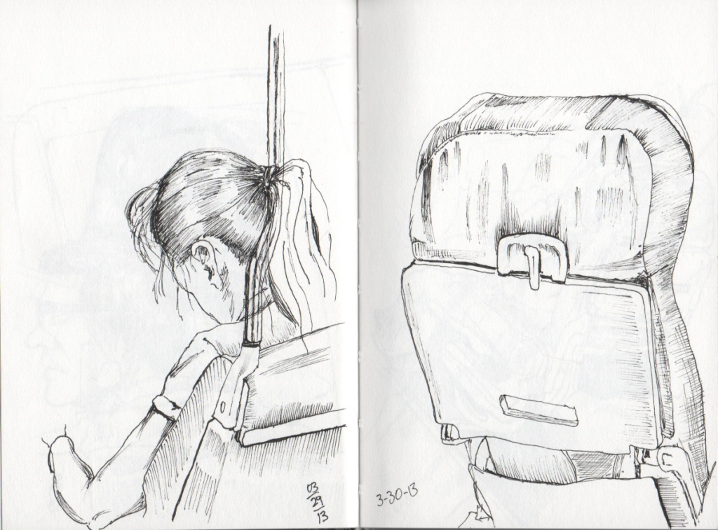 Urban Sketchers The Hipping Post